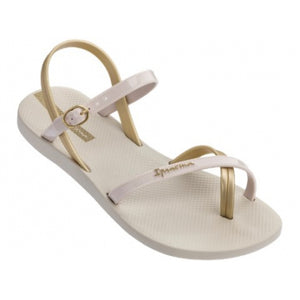 Greta Basics Beige Womens Thongs
