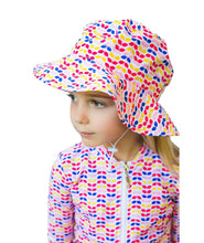 Load image into Gallery viewer, Girls Sun Hat (Colours Available)