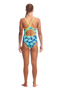 LADIES SIZE 12 Diamond Back One Piece (Colours Available)