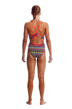 Load image into Gallery viewer, GIRLS SIZE 8 Diamond Back One Piece (Colours Available)