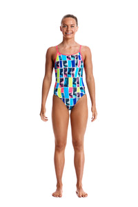 LADIES SIZE 10 Diamond Back One Piece (Colours Available)