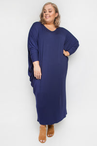 Long Sleeve Maxi Miracle Dress