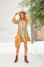 Load image into Gallery viewer, Bisque Short Dress Yellow