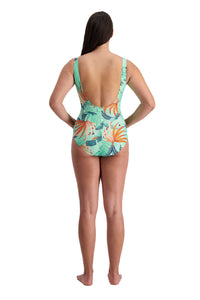 Tropical Vibes Adjustable Tie Side Suit Multi Fit
