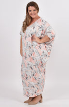 Load image into Gallery viewer, Maxi Miracle Dress in Pink Palm
