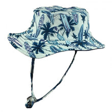 Load image into Gallery viewer, Wave Break Boys Reversible Bucket Hat
