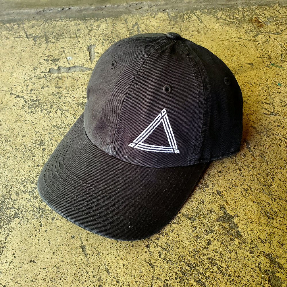 Black Triangle Dad Hat