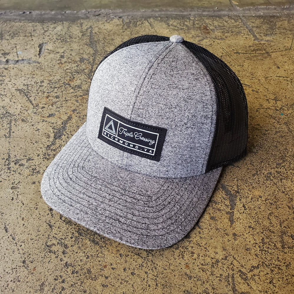 Clouded Heather Mesh Patch Hat