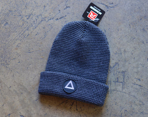 Heather Charcoal Waffle Knit Beanie