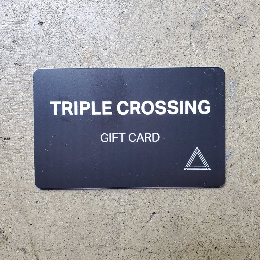 Triple Crossing Gift Cards