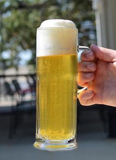 Load image into Gallery viewer, .5L Lager Stein with Script