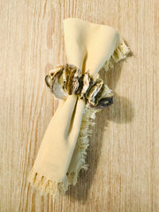 Oyster napkin ring