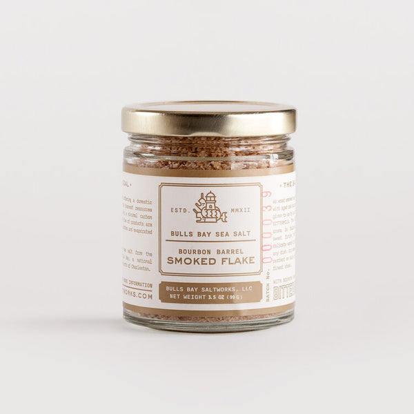 Bourbon Smoked Sea Salt - Bulls Bay
