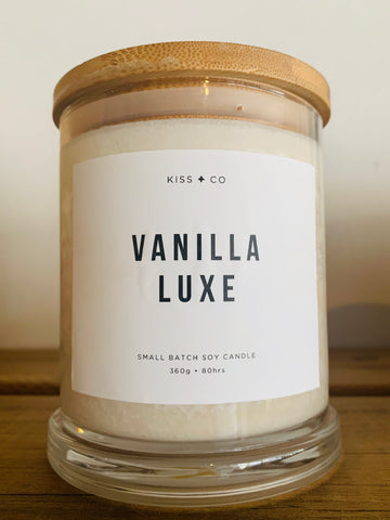 Vanilla Luxe Candle - Luxe