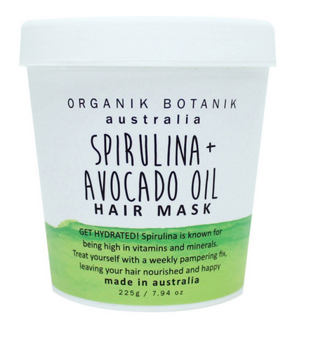 Spirulina Avocado Oil Hair Mask 225g