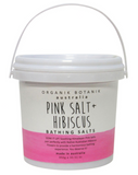Pink Salt & Hibiscus Bathing Salts Tub 950g