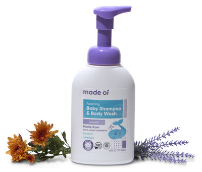 Foaming Organic Baby Shampoo & Body Wash