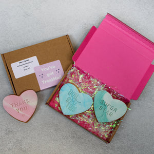 Stamped Letterbox Biscuits