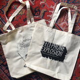Telephone Explosion / Morning Trip - Double Sided Tote