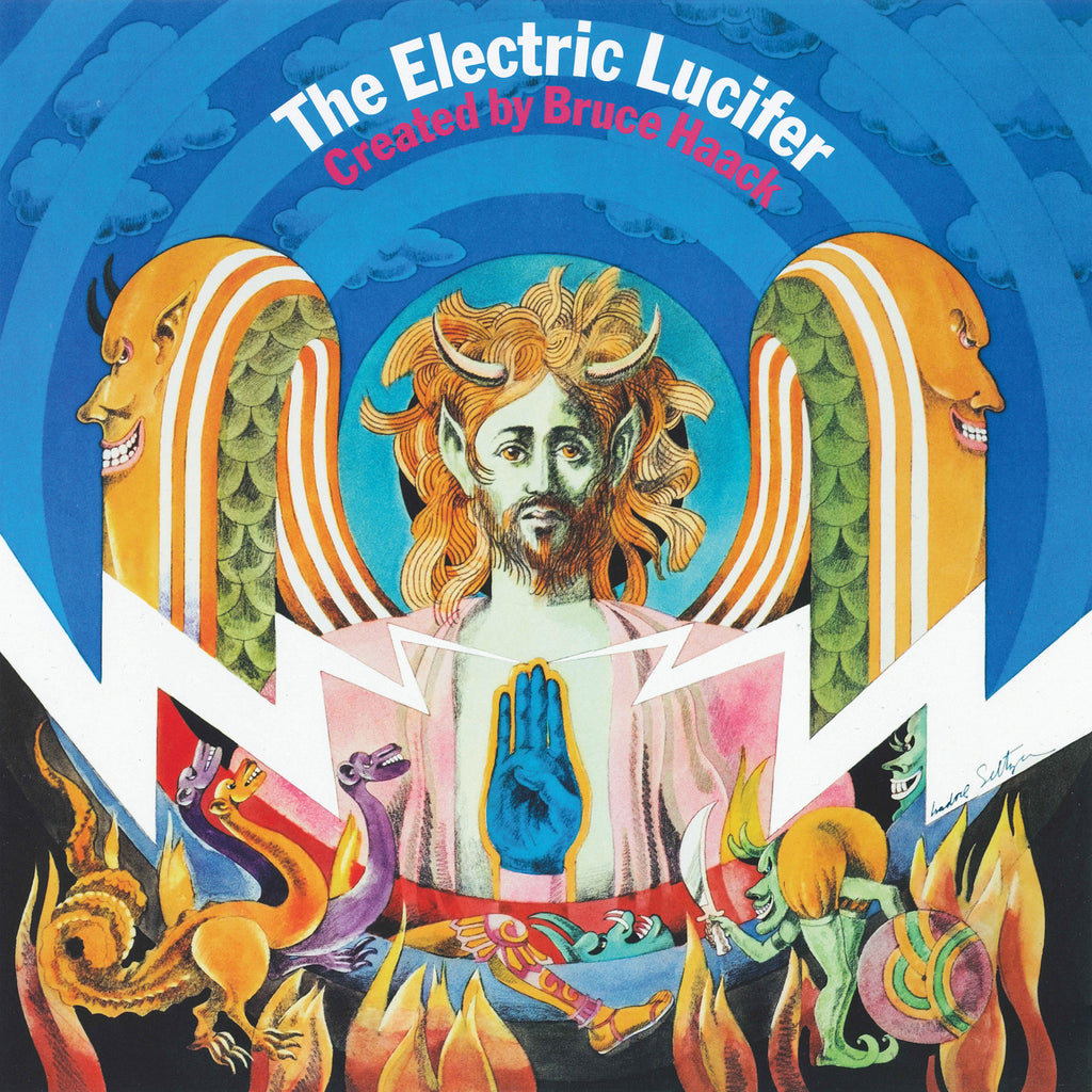 "Bruce Haack ""The Electric Lucifer"" LP"