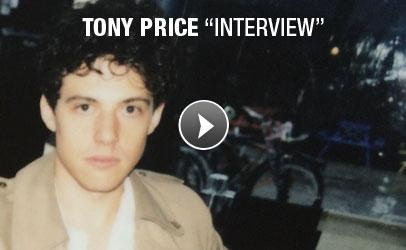 Tony Price - Interview