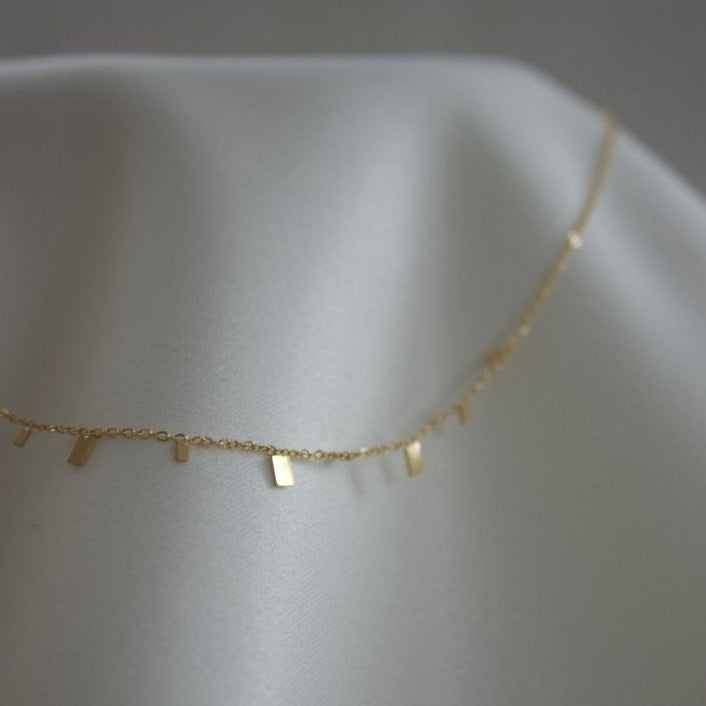 Classic No. 4 Necklace Rectangle