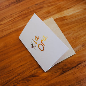 Te Reo Māori Greeting Cards ~ Single