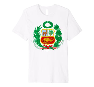Funny shirts V-neck Tank top Hoodie sweatshirt usa uk au ca gifts for Polo Escudo Peru - Escudo Nacional De Peru 2456777