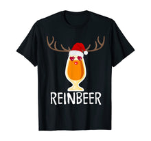Load image into Gallery viewer, Reinbeer T-Shirt Funny Christmas Gift For Beer Lovers TShirt