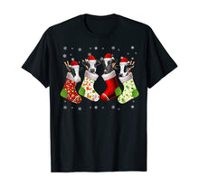 Load image into Gallery viewer, Santa Cow in Socks Funny Cow Christmas Pajama Gift T-Shirt