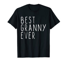 Load image into Gallery viewer, Funny shirts V-neck Tank top Hoodie sweatshirt usa uk au ca gifts for Best Granny Ever Cool Gift T-Shirt 1450627