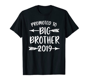 Promoted to Big Brother est 2019 Shirt Vintage Arrow