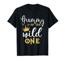 Load image into Gallery viewer, Funny shirts V-neck Tank top Hoodie sweatshirt usa uk au ca gifts for Funny Grammy Of The Wild One T-Shirts 1241361