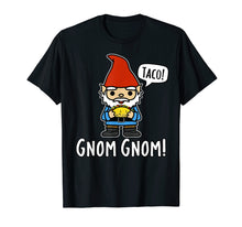 Load image into Gallery viewer, Funny shirts V-neck Tank top Hoodie sweatshirt usa uk au ca gifts for Funny Cute Gnome Eating a Taco Saying Gnom Gnom TShirt 2060041