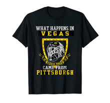 Load image into Gallery viewer, Funny shirts V-neck Tank top Hoodie sweatshirt usa uk au ca gifts for What Happens In Vegas Flower Power Came From Pittsburgh 2124176