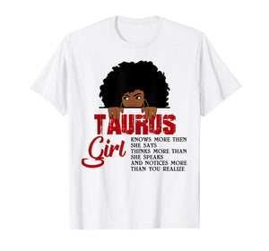 Funny shirts V-neck Tank top Hoodie sweatshirt usa uk au ca gifts for Taurus Girls T Shirt American Black Women April May Bday Tee 1417808