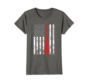Funny shirts V-neck Tank top Hoodie sweatshirt usa uk au ca gifts for Distressed USA Flag Themed Baseball Fans Batting Shirt 1309967