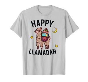 Funny shirts V-neck Tank top Hoodie sweatshirt usa uk au ca gifts for Happy Llamadan Funny Ramadan Ramadan Kareem Tee Llama Fans 1353745