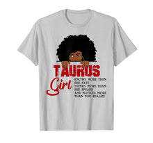 Load image into Gallery viewer, Funny shirts V-neck Tank top Hoodie sweatshirt usa uk au ca gifts for Taurus Girls T Shirt American Black Women April May Bday Tee 1417808