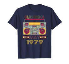 Load image into Gallery viewer, Retro May 1979 Tshirt 40th Birthday Gift 40 years old Tee