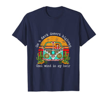 Load image into Gallery viewer, On A Dark Desert Higway Cool Wind In My Hair Hippie T-Shirt