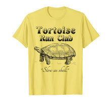 Load image into Gallery viewer, Funny shirts V-neck Tank top Hoodie sweatshirt usa uk au ca gifts for Marathon Running Funny T Shirt Tortoise Run Club 1178731