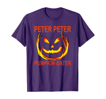 Load image into Gallery viewer, Peter Peter Pumpkin Eater Couples Halloween Costume T-Shirt