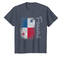 Load image into Gallery viewer, Panama Flag Travel Vintage Panamanian Camiseta T-Shirt