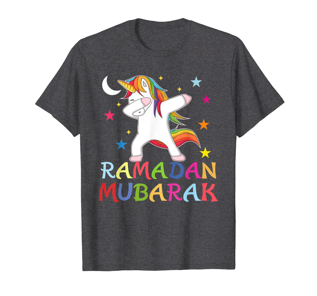 Funny shirts V-neck Tank top Hoodie sweatshirt usa uk au ca gifts for Dabbing Unicorn Ramadan Kareem Mubarak Muslim -Islam T-Shirt 3356345