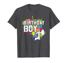 Load image into Gallery viewer, Paintball Birthday Boy Party Theme Shirt