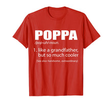 Load image into Gallery viewer, Funny shirts V-neck Tank top Hoodie sweatshirt usa uk au ca gifts for Mens PopPa Like A Grandfather, But So Much Cooler Funny T-shirt 1250622