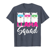 Load image into Gallery viewer, Funny shirts V-neck Tank top Hoodie sweatshirt usa uk au ca gifts for Retro 1980s Llama Shirt Funny Cute Llama Squad Birthday Gift 298865