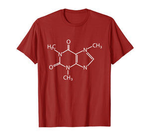T Shirt Coffee - Structural Formula - Chemical Composition