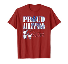 Load image into Gallery viewer, Proud Air National Guard Sister Shirt USA Air Force Women